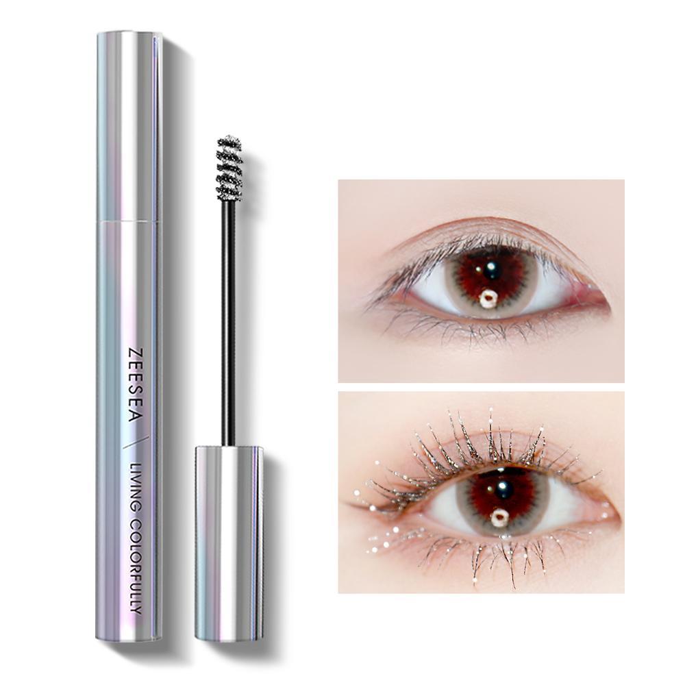 ZEESEA New 9 Colors Mascara Shine Colourful Curling Waterproof Fast Dry Eyelash Extension Cosmetics Makeup