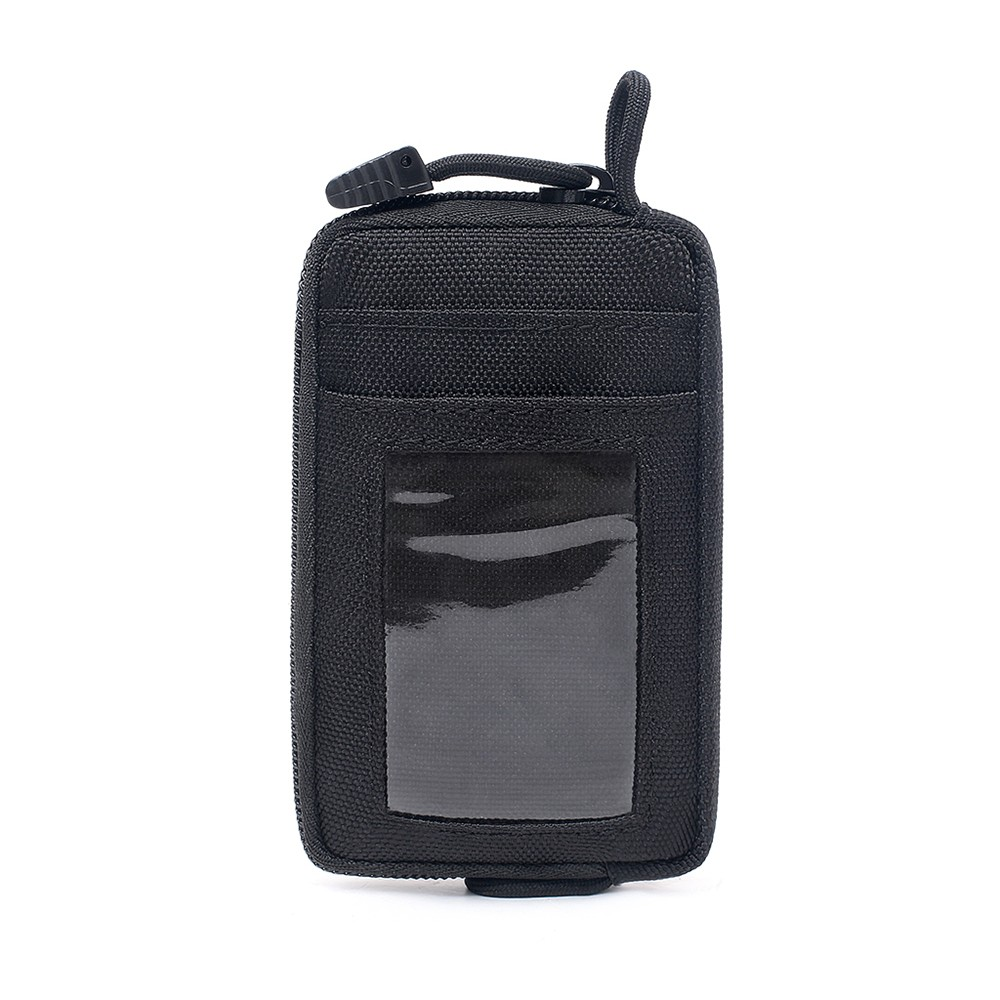 Tactical Multi-Function Card Wallet With D-Shaped Buckle Hunting Tactical Equipment Accessories Pocket Bag Small Case Waist Bag
