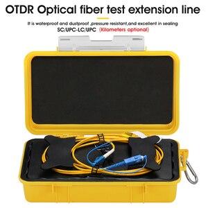 Image 2 - Eliminador de zona OTDR SC/UPC LC/UPC envío gratis, anillos de fibra, caja de Cable OTDR de fibra óptica 500M 1Km 2Km SM 1310/1550nm