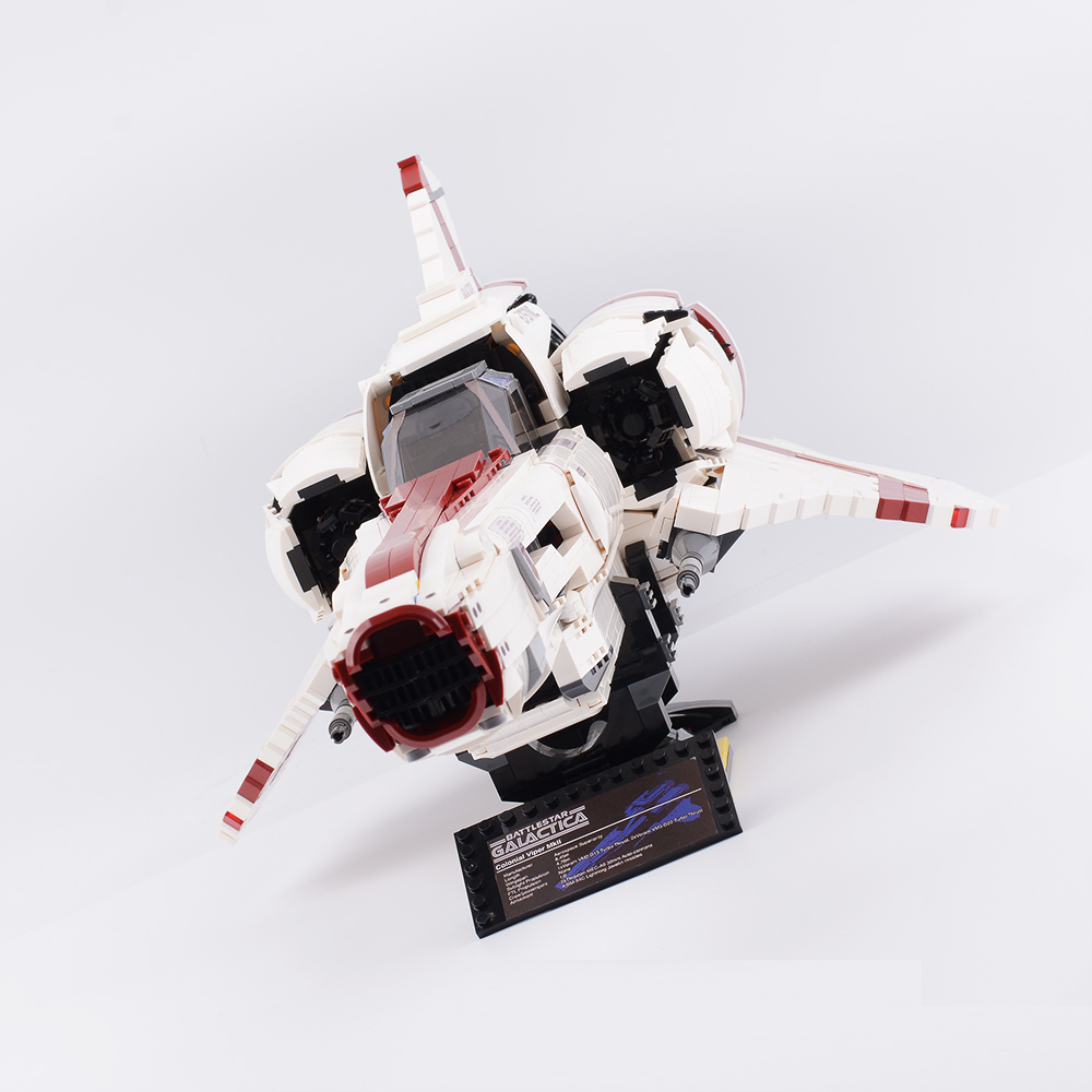 Assembling-Toy Building-Blocks Battlestar Galactica Colonial Viper Mkii MOC-9424 Planet-Series