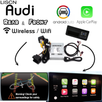 For Audi Wireless Carplay box Rear camera Carplay Interface Original scree Android carlife Improve A3 A4 A5 S5 A6 A7 A8 Q3 Q5 Q7