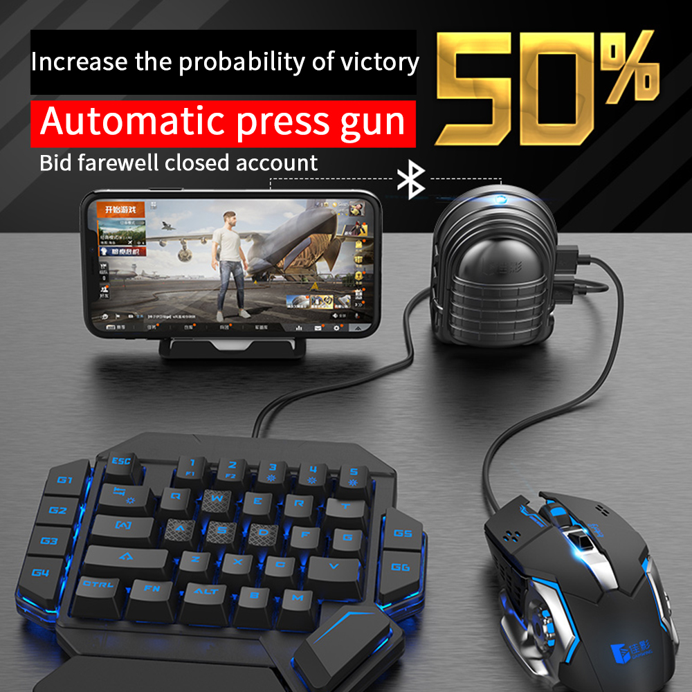 Mouse Tablet Keyboard Game-Controller Auxiliary-Game Pressure-Grab Mobile-Phone COD Mix3 Pubg title=
