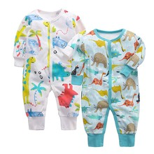 цены Newborn baby clothes baby and girls rompers jumpsuit winter overalls for kids  baby clothing boys girls jumpsuit&clothing