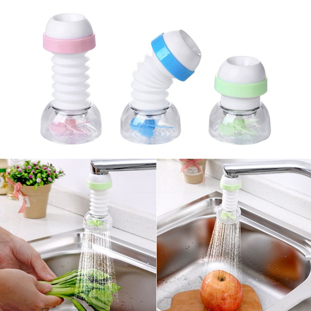 Kitchen Accessories Anti-splash Faucet Filter Tip Kitchen Water Filter Sprayer Tap Water Strainer Faucet Extender