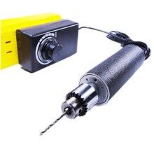 DIY Mini Elektrische GrindeHandmade PCB Bohren Leder Low speed Schleifen Trimmen Maschine