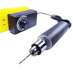 Image 1 - DIY Mini Elettrica GrindeHandmade PCB Foratura In Pelle A bassa velocità Rettifica Taglio Macchina