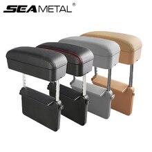 Caixa de apoio braço do carro cotovelo apoio ajustável assento de carro gap organizador braço resto caixa para carros acessórios automóveis almofada braço universal