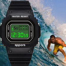 Clock Watches Silicone Sports Women LED Digital Flash-Light Jelly Multifunction Male