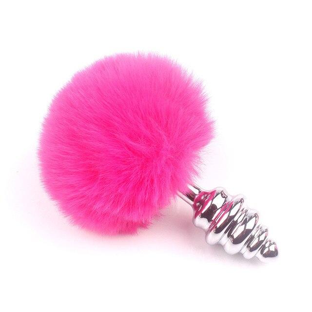 pink-rabbit-tail-anal-plug-spiral