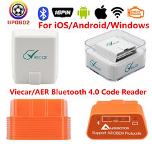 Melhor viecar bluetooth 4.0 scanner elm327 v1.5 obd obd2 leitor de código bluetooth 4 ferramenta de diagnóstico do carro para ios android pc