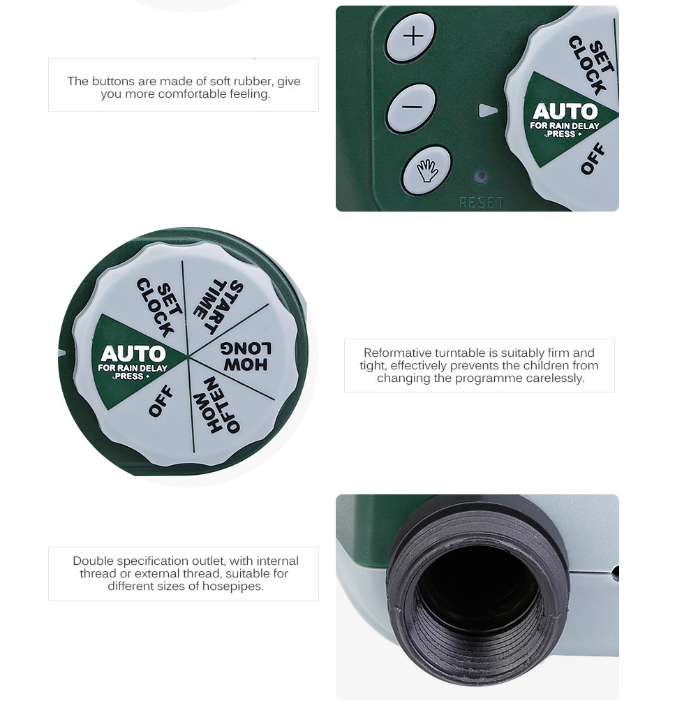 H3f85032b30a642e0802edb44e8016799T 30M Drip irrigation Automatic Garden Watering System Kit Garden Irrigation Watering Micro Drip Mist Spray Cooling System