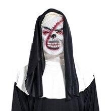 Популярные костюмы для Хэллоуина Косплей смерть Мрачный Жнец костюм вечерние с Screepy силиконовая маска DO2