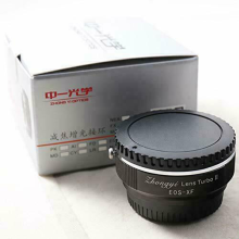 Zhongyi Focal Reducer Speed Booster Lens Turbo Ii Adapter Voor Canon Eos Lens Fujifilm X Mount APS-C Camera(China)