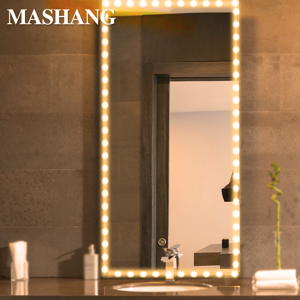Makeup Mirror Light LED Vanity Table Lamp USB Flexible Lights With Tape Professional Makeup Lighting Cabinet Mirror Lamp Decor