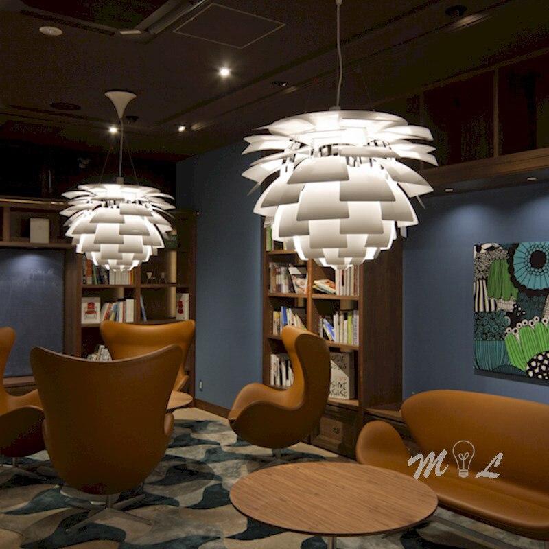 Modern Aluminum Pendant Light Pinecone Hanglamp Denmark PH Hanging Lamp For Living Room Office Suspension Luminaire Lamp Pendant