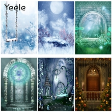 Yeele Fairy Portrait Dream wonderland Magic Castle Photography Backdrops Personalized Photographic Backgrounds For Photo Studio