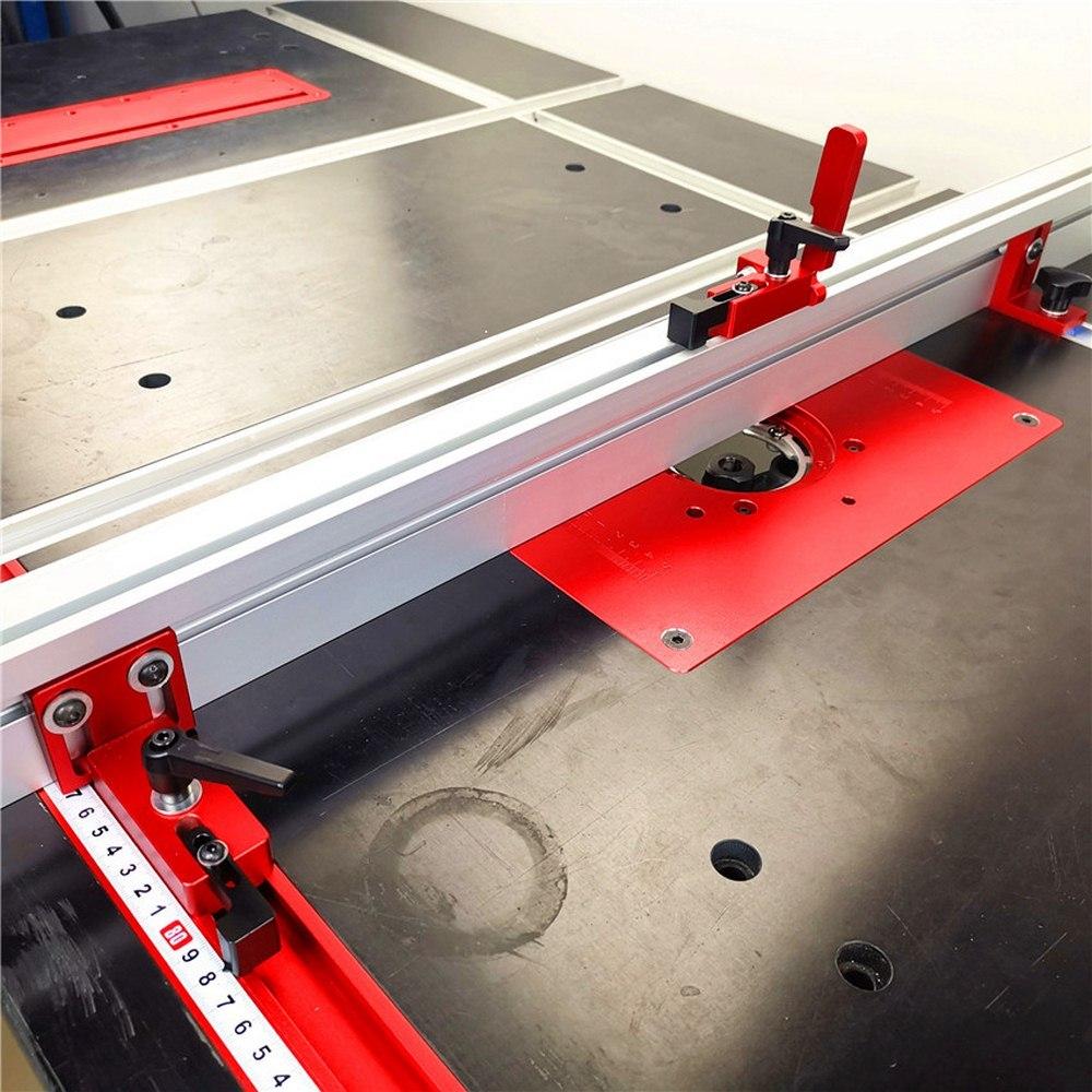 T-slot T-track Stop Miter Gauge Table Saw Aluminium Profile Aluminium Alloy T-tracks Chute Limiter Woodworking Tools 30/45/75