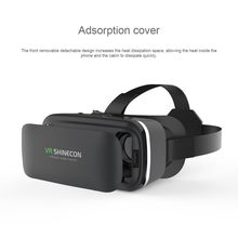 6th Generation 3D Senior VR Headset 3D VR Glasses VR Movie Glasses SC-G04 for 4.7-6 inch / Android WIN IOS system(China)