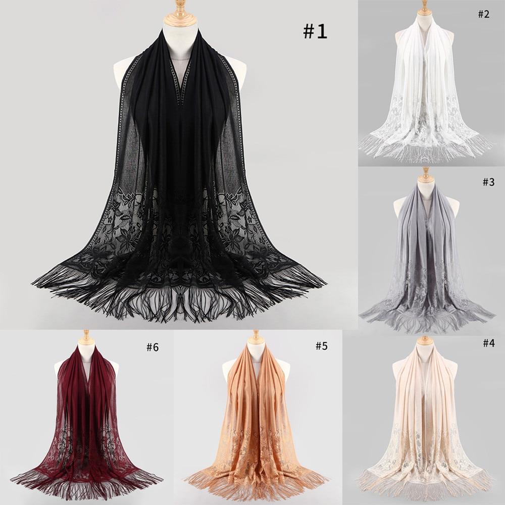 luxury Silk Satin   Scarf   Thin Shawls   Wraps   Elegant Women's Fashion Fringed Printed Cotton Parisian Shawl Soft Beach Towel   Scarf