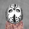 Jason Maske Mörder 13th Männer Ringe Punk Hip Hop Dominierenden für Freund Männlichen Edelstahl Schmuck Kreativität Geschenk Großhandel