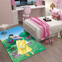 Princess Mat Bathroom Child boy girl Carpet Hallway Doormat Anti - Slip Bathroom Carpet Absorb Water Kitchen Mat/Rug