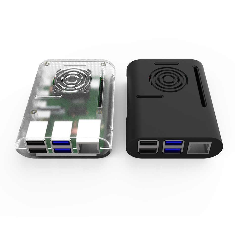 Raspberry Pi 4 Case, Plastic beschermhoes voor raspberry pi 4