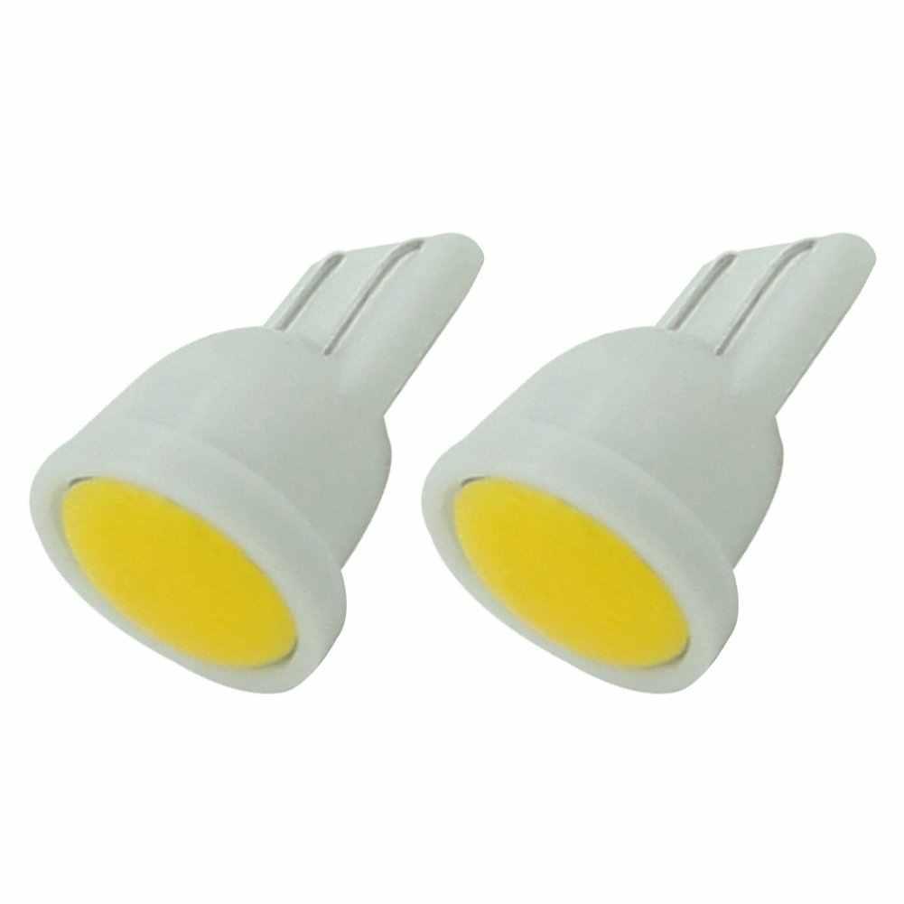 COB T10 W5W luz LED de ancho de coche Luz de circulación diurna lámpara de estacionamiento placa de matrícula Universal accesorios de coche