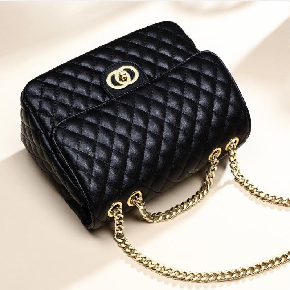 ZOOLER Genuine Leather Shoulder Bags Women Patchwork Messenger Bag Crossbody Fashion Leather Handbag Purse Bolsa Feminina #B263