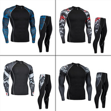 Men's Sports Underwear Trainning & Exercise Sets Compression Clothing Jogging Tr