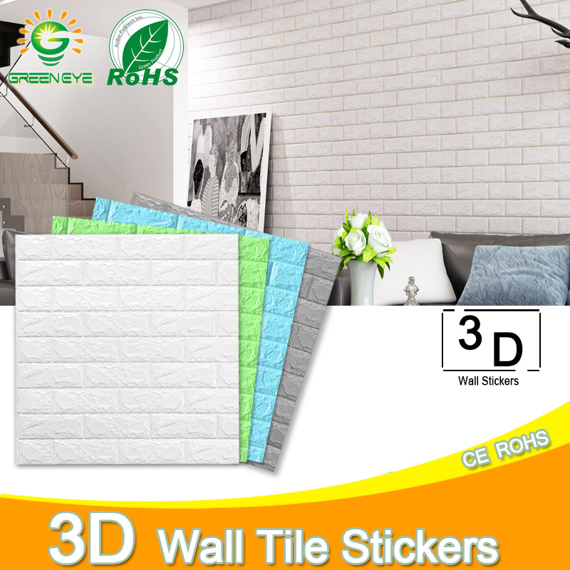 3D Wall Stickers Marble Brick Peel and Self-Adhesive Wall paper Waterproof DIY Kitchen Bathroom Home Wall Decal Sticker Vinyl title=