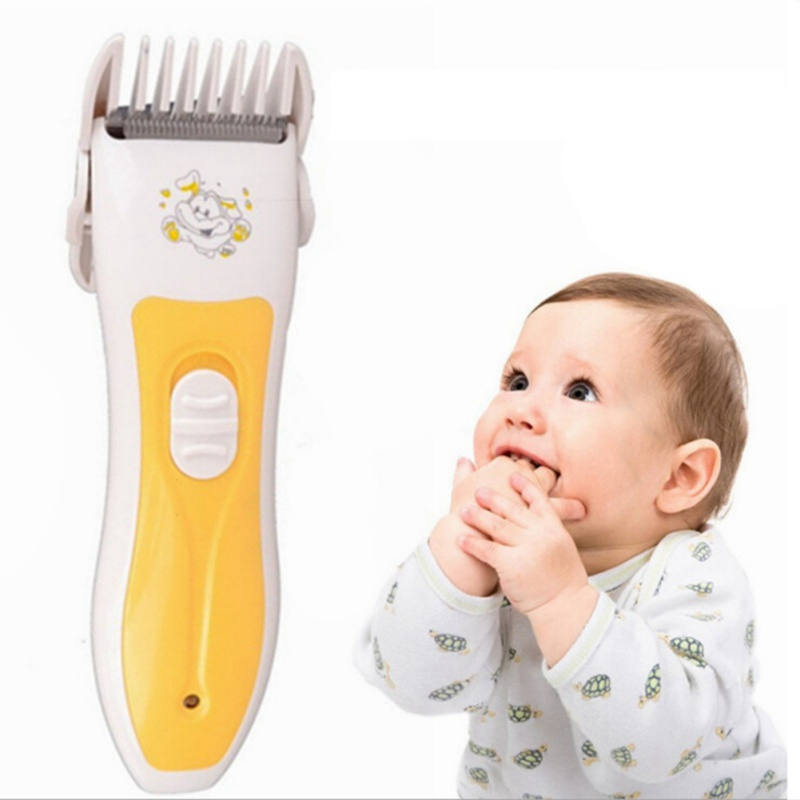 Baby Electric Hairs Clipper Hair Clipper USB Interface Charging Waterproof Trimmer Baby Mute Hair Clipper Baby Shaving Head Home