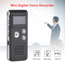 Professional Voice Activated Digital Audio Recorder 8GB Audio Voice Recorder Portable MP3 Player Mini Digital Recording Pen