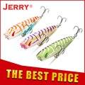 Jerry Stopper topwater рыболовная приманка набор басов форель заглушка Сверхлегкая жесткая приманка 5 см 4,3 г плавающий Поппер искусственная приманка