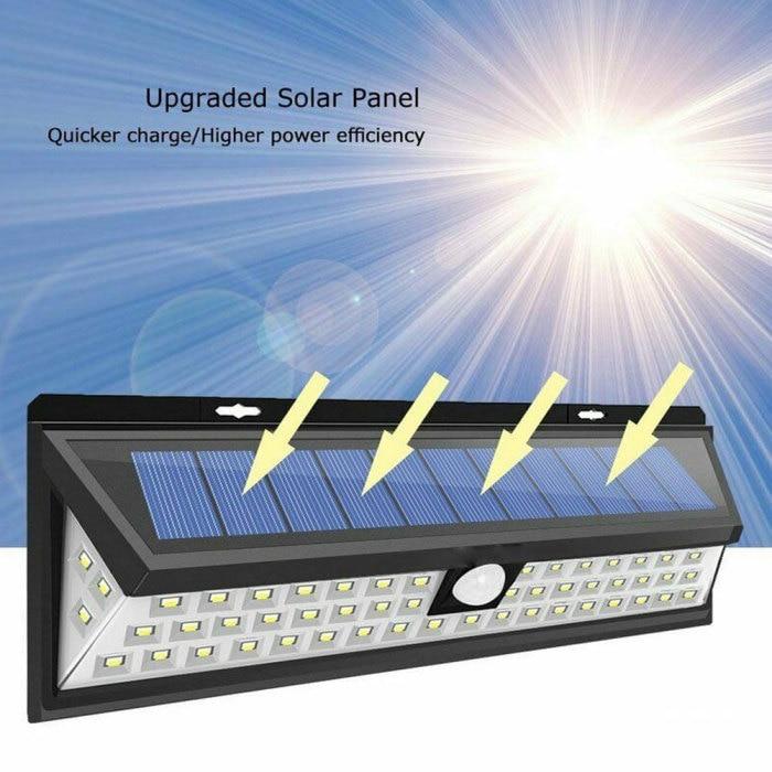 118 diodos emissores de luz de parede