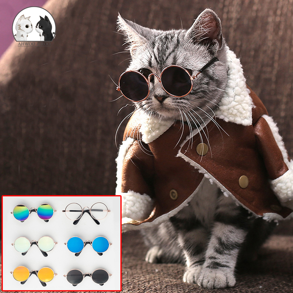 font b Pet b font Cat Glasses Lovely Multicolor Sunglasses Products for Little Dog Cat