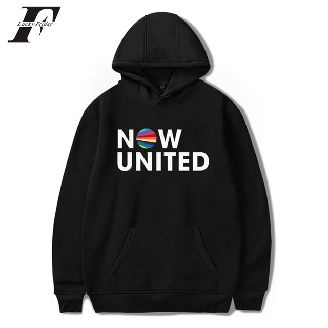 Now United Sabina Hidalgo 03 Hoodie Sweatshirts Trui Kpop Newtracksuit Streetwear Print Casual Mannen Vrouwen Printed Coat Tops 5