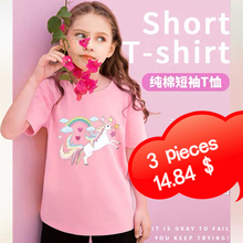Girls summer clothes 100% cotton short-sleeved fun T-shirt graphics T-shirt cartoon printing boys and girls clothes tops T-shirt 2020 new summer boys t shirt girls t shirt girls t shirt cotton children s t shirt boys t shirt children s t shirt boys clothes