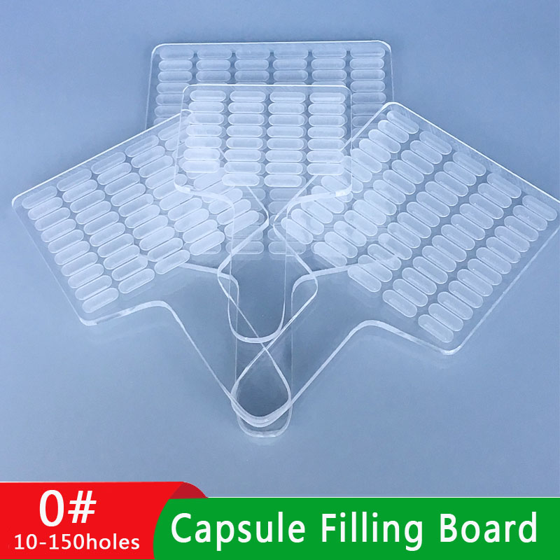 0 # 30-Hole Capsule Counting Board 50-Hole Pill Counter Powder Filling Machine 100 Tablets Bottling Filling Machine