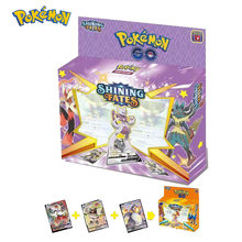 54PCS/BOX SUN&MOON TEAM UP GX MEGA Pokemon Shining Card Game Battle Carte Trading Cards Game Children Pokemons Toys for children