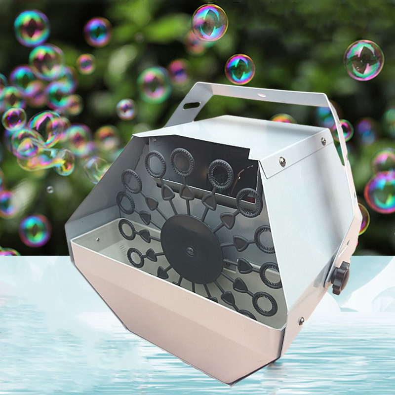 Wireless Remote Control 110V 220V Bubble Machine For DJ Disco Wedding Party Show Automatic Blowing Bubbles Foaming Equipment