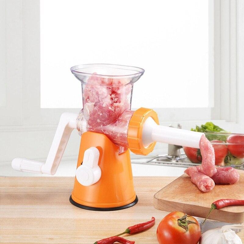 Useful Tools Powerful Meat Grinder Multifunctional Manual Food Cutter Processor Blender Multifunctional Manual Meat Grinder