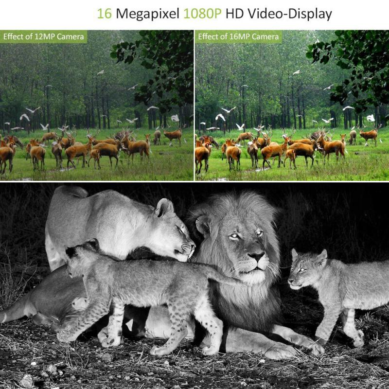12mp animal selvagem photoshooting wildlife gatilho infared ativado caca trail camera 05