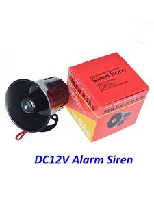 Outdoor Alarm Speaker Siren-Wire Loud Security 115db 12V DC Exterior for 15W