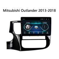10 Android 8.0 Car radio For Mitsubishi Outlander 2013 2018 multimedia System Auto video Universal GPS navitation
