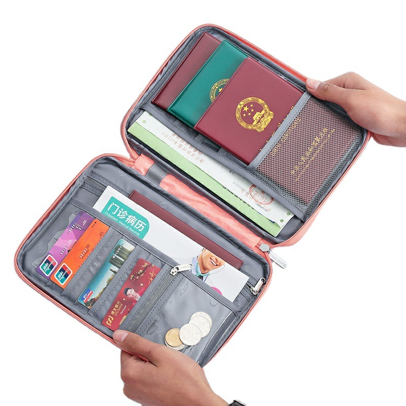 Travel Passport Cover Waterproof Passport holder Holder Multi-Function ID Document Wallet Organizer  Credit Card Accessories