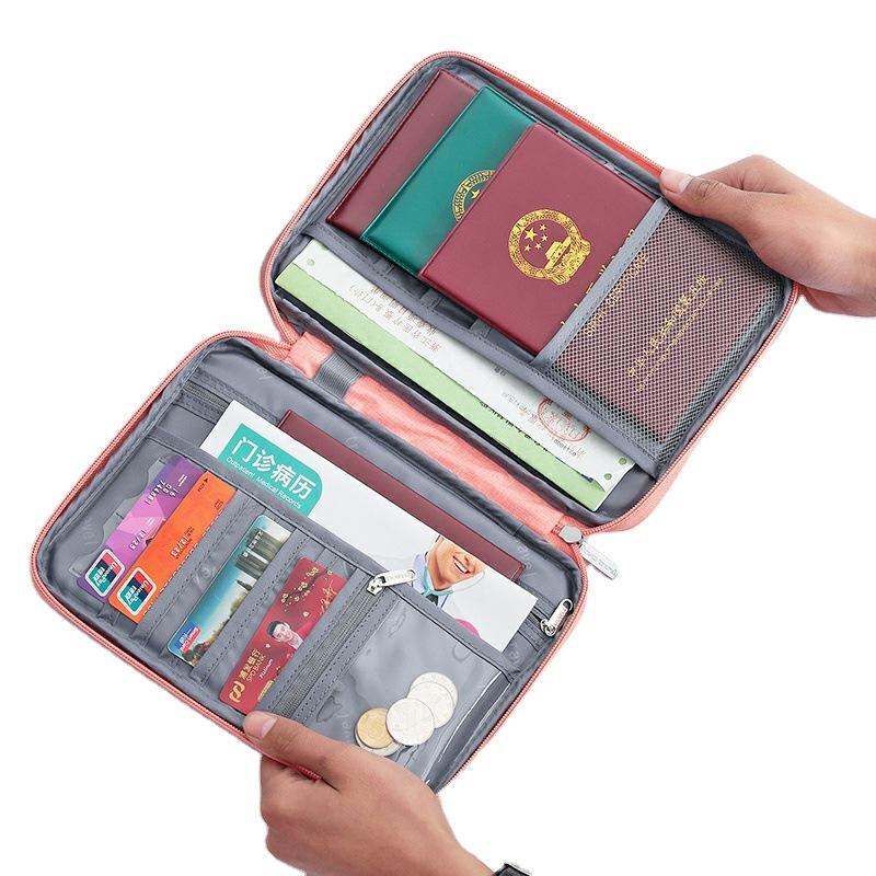 Travel Passport Cover Waterproof Passport holder Holder Multi Function ID Document Wallet Organizer  Credit Card Accessories