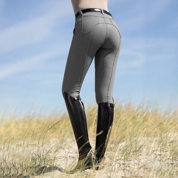 WEPBEL Mens Womens Horse Riding Camping Running Climbing Full Riding Breeches Pants Sports Leggings Archery Riding Trousers complete horse riding manual