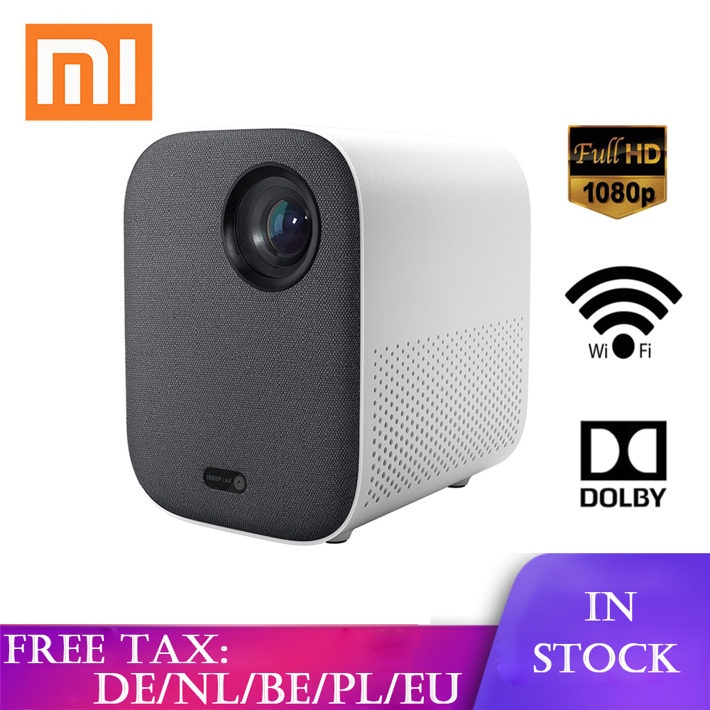 Original Xiaomi Mijia Jugend Version Mini Projektor Beamer Tragbare Projektor Android Home Cinema Wifi LED <font><b>tv</b></font> video <font><b>proyector</b></font> image
