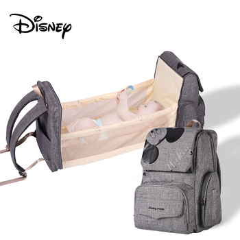 New-Design Disney Diaper Bag Backpack for Moms Mommy Baby Bags Waterproof Maternity for Baby Care Nappy Bag Travel Stroller Bag Bags Kids