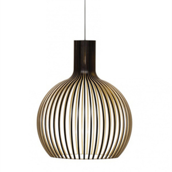 Modern Nordic Black Wood Birdcage Pendant lights Designer E27 bulb Sam bamboo weaving wooden Pendant lamps for Living Room Foyer modern black wood birdcage e27 bulb pendant light norbic home deco bamboo weaving wooden pendant lamp